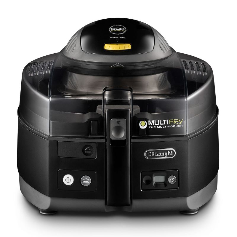 DeLonghi MultiFry Low Oil Air Fryer & Multi-Cooker, Black thumbnail